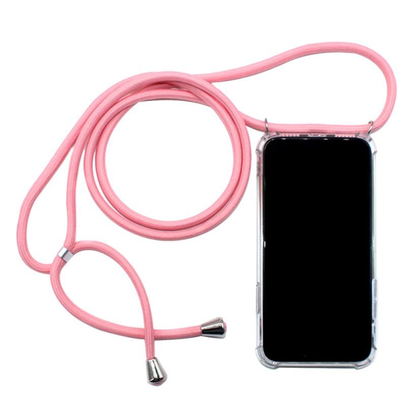Прозрачный чехол для мобильного телефона из ТПУ, подходит для IPhone6/6s с веревкой, четыре угла, анти-падение, чехол для мобильного телефона, про...(Китай)