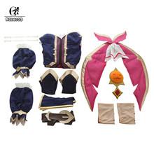 ROLECOS игра LOL Косплей мисс Фортуна косплей костюм женское сексуальное платье Хэллоуин Униформа Полный комплект с кепкой(Китай)