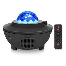 Звездная Галактика проект USB питание Bluetooth лазерная Светодиодная лампа Музыка Звук управление Дистанционное управление проектор для DJ сцен...(Китай)