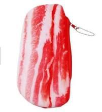 Плюшевый чехол для карандашей из овощей и свинины, сумка для хранения ручек, офисные школьные принадлежности, креативная канцелярская коро...(Китай)