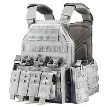 YAKEDA пластина перевозчика тактический жилет-ACU камуфляж(Китай)