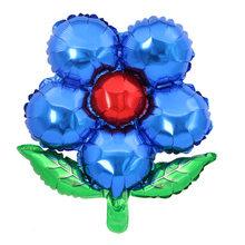 1 шт. 55x58 см, восемь цветов, цветок, фольга, шар, свадебное платье, праздник, день рождения, День Святого Валентина, вечерние украшения(Китай)