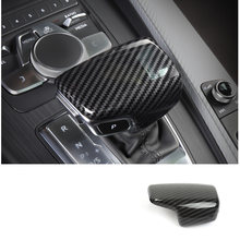 Lsrtw2017 углеродное волокно Abs ручка багажника автомобиля крышка заднего вида планки для Audi A4 2017 2018 2019 2020 аксессуары стикер(Китай)