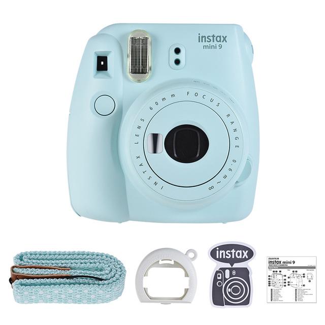 Fujifilm Instax Mini 9 мгновенная камера для пленочная камера с зеркалом для селфи аксессуары для мгновенной камеры комплект с 20 фотобумагой(Китай)
