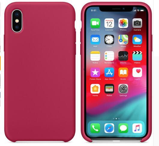 Леденцовый силиконовый Жидкий чехол для IPhone X XS чехол для Max XR для IPhone11 Pro Max 7 6s 8 Plus Мягкий ТПУ чехол для задней панели Твердые цвета Fundas(Китай)