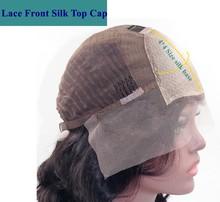 Бразильские 180 плотность 13X6 кружевные передние человеческие волосы парики для черных женщин предварительно выщипанные шелковые верхние по...(Китай)