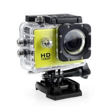 Наружная мини Спортивная Экшн-камера Ultra 30M 1080P подводный водонепроницаемый шлем видео записывающая камера s Спортивная камера(Китай)