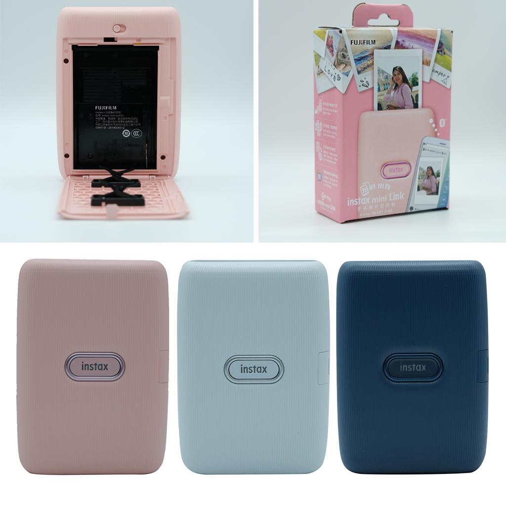High Quality Mini Link Smartphone photo Printer blue