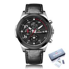 SWISH 2020 мужские спортивные часы, хронограф из нержавеющей стали, светящиеся военные кварцевые наручные часы, Relojes Hombre 2020(Китай)