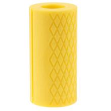 Толстые ручки для Штанги Гантели с толстой ручкой для тяжелой атлетики, силиконовая противоскользящая защитная накладка для бодибилдинга(China)