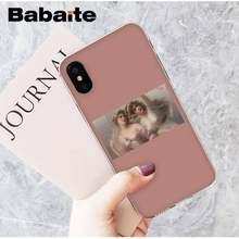 Babaite, модный, эстетический, масляной живописи, милый, для девочек, новый, сделай сам, чехол для iPhone 8, 7, 6, 6S Plus, X, XS, MAX, 5, 5S, SE, XR, 11, 11pro, 11promax(Китай)