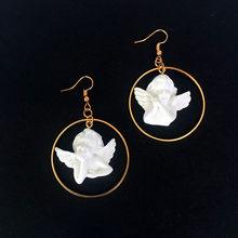 Женские винтажные серьги-капельки с натуральным камнем lrnormal, ювелирные украшения для девушек(Китай)