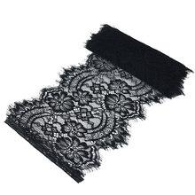 (3 м/лот) 22 см белое украшение для ресниц, кружевная ткань, аксессуары для свадебного платья(Китай)