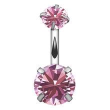 Кольцо для пирсинга на пупке, кольцо для пирсинга, ювелирное изделие для женщин, креативное ювелирное изделие для пирсинга, Кристальное кол...(Китай)