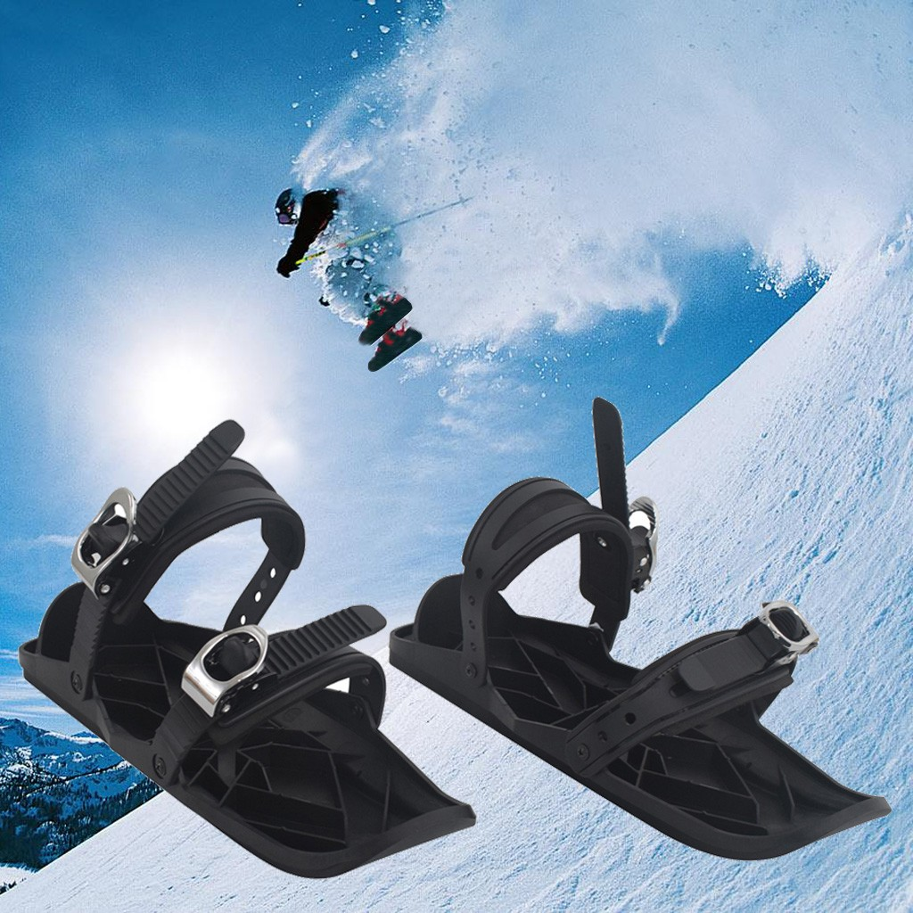 Ski Boots Sale >> Outdoor Skiing Mini Sled Snow Board Ski Boots Ski Shoes Combine Skates With Skis Boot Travel Shoe Snow Hunting Climbing Sports