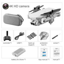 Портативный мини-Дрон 4K 1080P HD камера WiFi Fpv давление воздуха высота удержания складной Квадрокоптер RC Дрон игрушка(Китай)