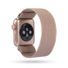 Богемный эластичный нейлоновый ремешок на петлях для Apple Watch 38 мм 40 мм 42 мм 44 мм Iwatch 5/4/3 2 мужской женский ремешок для Apple Band(Китай)