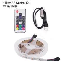 ТВ задний светильник Светодиодная лента светильник 5050 5 в USB RGB Светодиодная лента водонепроницаемый гибкий светильник s для HD ТВ экрана ПК LCD...(Китай)