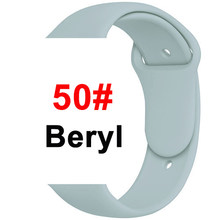 Ремешок для Apple Watch 38 мм 42 мм iWatch 4 3 2 1 ремешок 44 мм 40 мм спортивный силиконовый ремень браслет для Apple Watch 5 Аксессуары(Китай)
