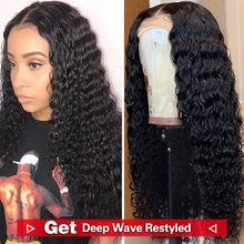 RXY 5x5 длинные прямые человеческие волосы кружевные парики бразильские волосы Remy 150% плотность кружевные парики для черных женщин(Китай)