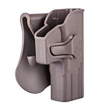 Тактическая кобура Amomax для Glock 19/23/32 ISSC M22 Series ICS BLE-XAE Series-правшей Tan (стандартная только с поясной пластиной)(Китай)