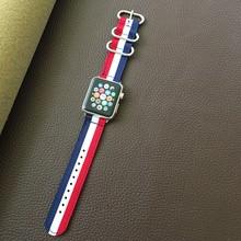 Роскошный нейлоновый ремешок для apple watch 5 4 3 2 1 браслет ремешок для iwatch 42 мм 38 мм 40 мм 44 мм аксессуары хит продаж(Китай)