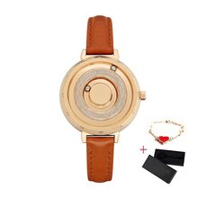 Женские часы с магнитной застежкой EUTOUR, роскошные золотые кварцевые часы из нержавеющей стали с браслетом, женские наручные часы, reloj mujer, 2019(China)