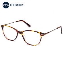 BLUEMOKY очки по рецепту, оправа для женщин, оптические очки для близорукости, оправа для очков, женские прозрачные линзы, прямоугольные поддель...(Китай)
