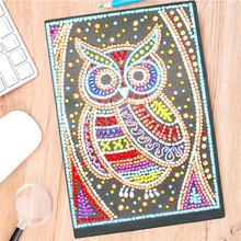 HUACAN алмазная вышивка распродажа сова 5д алмазная мозаика живопись картины стразами декор для дома(Китай)