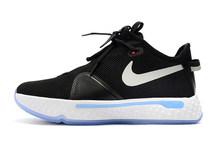 Мужская баскетбольная обувь Nike Paul Джордж 4, амортизирующая спортивная обувь для тренировок на открытом воздухе, кроссовки Size40-45()