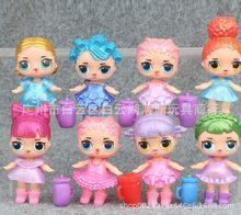 8 шт./компл. lol сюрприз кукла украшения игрушки блестящие конфетти серии фигурки аниме для детей день рождения игрушки куклы для девочек(Китай)
