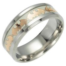 Модные серебряные кольца для мужчин и женщин в стиле хип-хоп из титановой стали, кольцо с Бэтменом, ювелирные изделия для женщин, Индивидуал...(Китай)