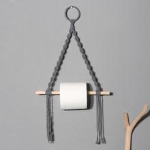 Настенный держатель для туалетной бумаги, гобелен, макраме, декор для ванной комнаты, диспенсер для туалетной бумаги 2020(Китай)