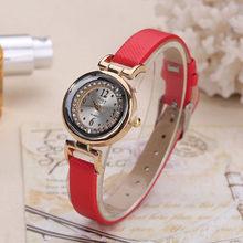 2020 женские модные роскошные часы с кожаным ремешком женские часы-браслет стразы PU спортивные кварцевые часы наручные часы для женщин Cloc(Китай)