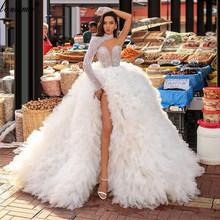 Женское вечернее платье с жемчугом, ТРАПЕЦИЕВИДНОЕ ПЛАТЬЕ с одним плечом, вечерние платья красного ковра в Дубае(Китай)
