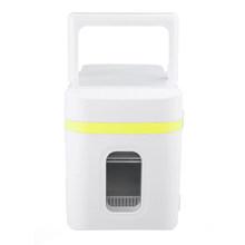 10л автомобильные холодильники с низким уровнем шума, автомобильные мини холодильники с морозильной камерой, охлаждающая нагревательная ко...(Китай)