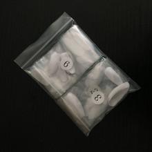 Накладные ногти на шпильках, белые/натуральные/прозрачные, длинные, искусственные, для полного покрытия ногтей, для женщин, сделай сам, 100 шт....(Китай)