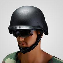 Пуленепробиваемый шлем, тактический шлем из чистой стали, безопасность кампуса, шлем для беспорядков, армейский вентилятор, уличная полева...(Китай)