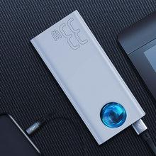 Baseus 65W внешний аккумулятор 30000mAh USB C PD Быстрая зарядка 30000 Powerbank портативное Внешнее зарядное устройство для ноутбука iPhone Xiaomi(Китай)