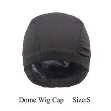 AliLeader L/M/S дешевая эластичная сетчатая купольная крышка парика для изготовления человеческих волос парики бежевая черная сетка спандекс без...(Китай)