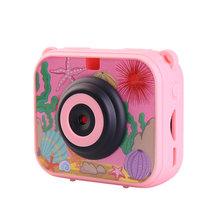 Детская мини цифровая камера 1080P 30 м подводная видеокамера запись видеокамера милый мультфильм фото видео камера для детей(Китай)