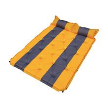 Автомобильный портативный надувной матрас на заднем сиденье для путешествий, кемпинга, спальная кровать, аксессуары для походов, универсал...(Китай)