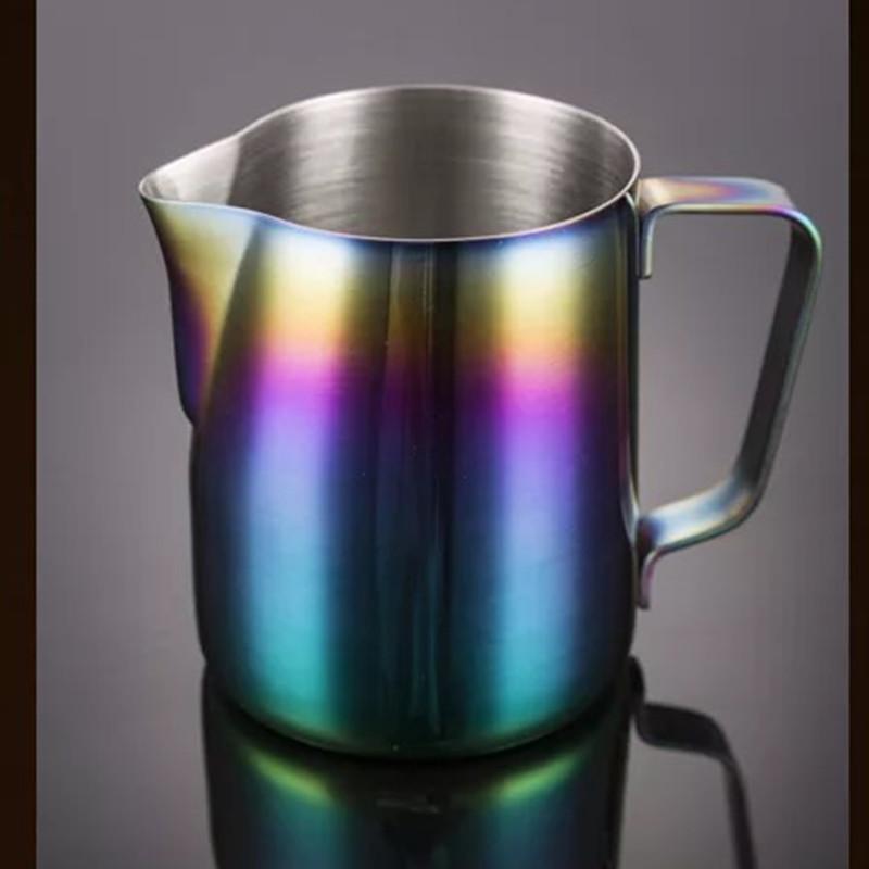 Нержавеющая сталь вспениватель кофе чашка кувшин тянуть цветок эспрессо чашки для Капучино молоко горшок вспениватель кувшин латте искусс...(Китай)