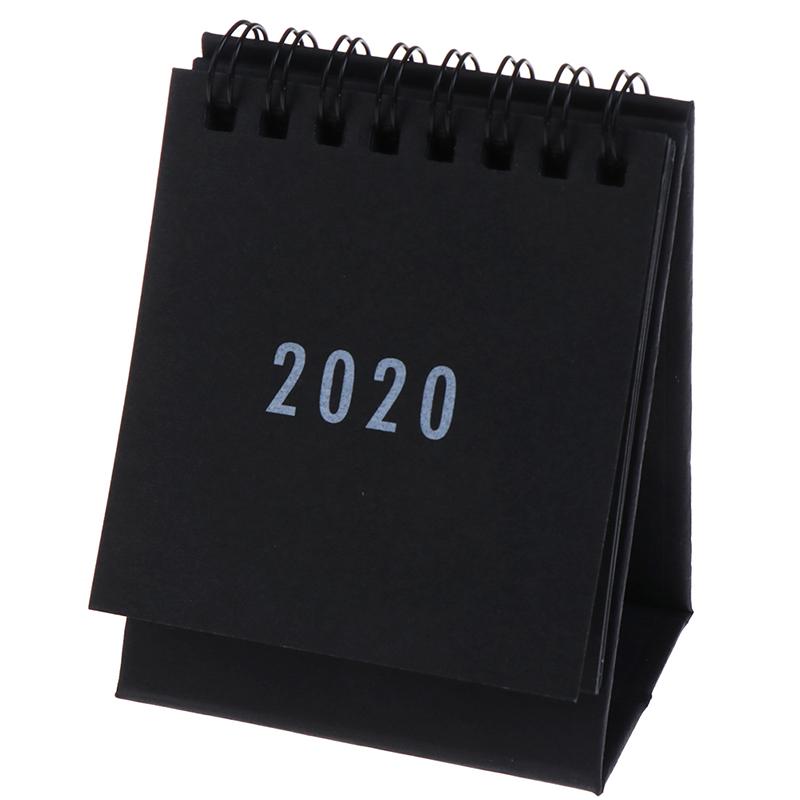 1 шт., 2020 ежедневник, настольный календарь, еженедельник, ежемесячный ежедневник, Настольный ежедневник, простое украшение, канцелярские при...(Китай)