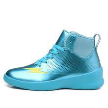 Стильная и гладкая Баскетбольная обувь, легкая и дышащая Баскетбольная обувь, нескользящая износостойкая Баскетбольная обувь(Китай)