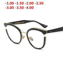 MINCL/2019 новая близорукость законченная леопардовая Женская оправа для очков от близорукости прозрачные линзы солнцезащитные очки близоруко...(Китай)