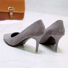 Женские модельные туфли на высоком каблуке 5 см 7 см 9 см; Свадебные туфли для невесты; Пикантные красные туфли-лодочки на шпильке с острым нос...(Китай)