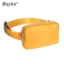 Buylor поясная сумка, поясная сумка, модная Женская Хип-Хоп сумка на плечо, нагрудная сумка, водонепроницаемая сумка через плечо с регулируемым...(Китай)