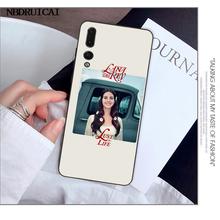 NBDRUICAI Эстетическая Лана Дель Рей красивая девушка DIY чехол для телефона с рисунком для Huawei Y5 Y6 Y7 Y9 Prime 2019 Enjoy 7 8 9 10 Plus(Китай)