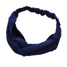 1 шт. корейские замшевые повязки для волос в стиле ретро, однотонные повязки для волос с заячьими ушками, перекрестный ободок с бантиком, мет...(Китай)